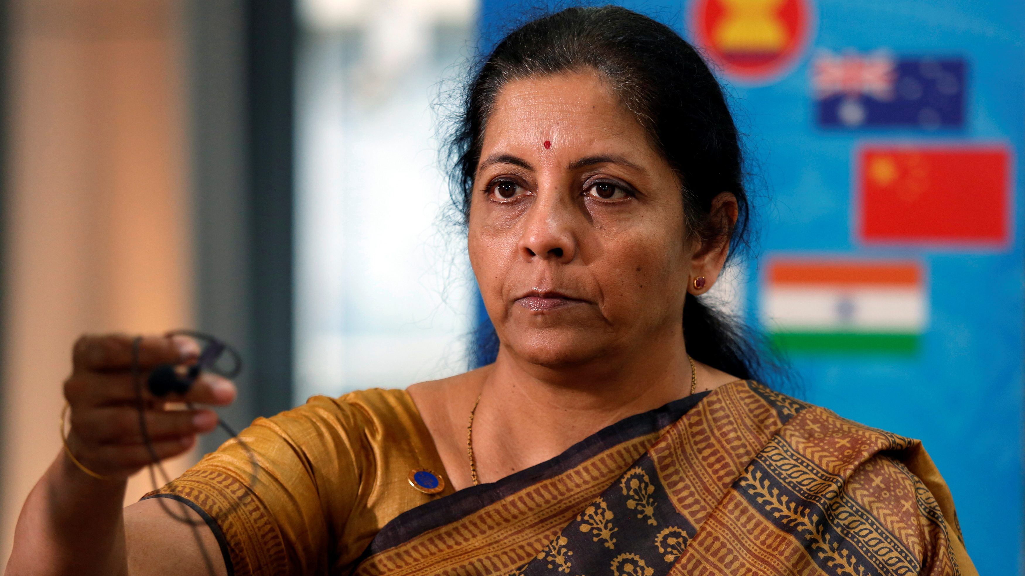 India's new finance minister Nirmala Sitharaman will represent the country at G20 tax discussions in Tokyo.