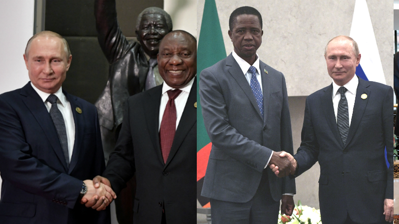 Russia keen to offer alternative to US and China in Africa