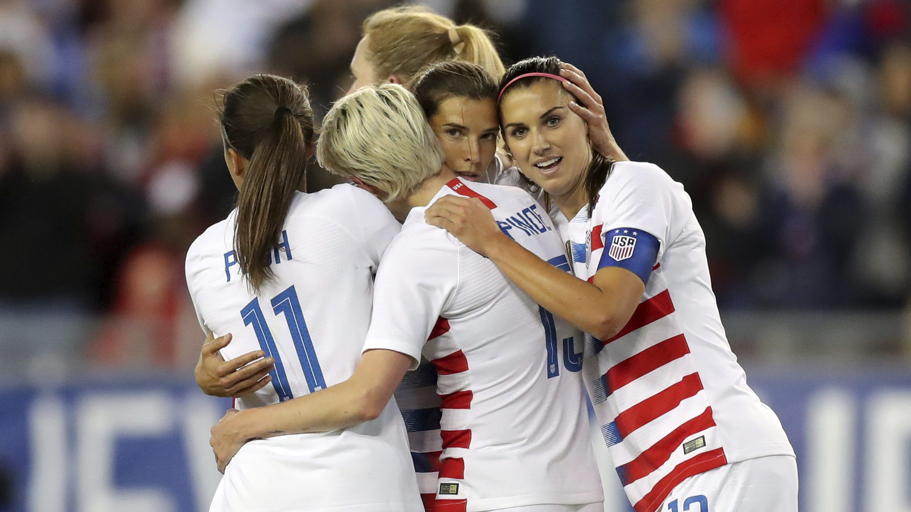 US women's soccer team spotlights pay inequality at the World Cup