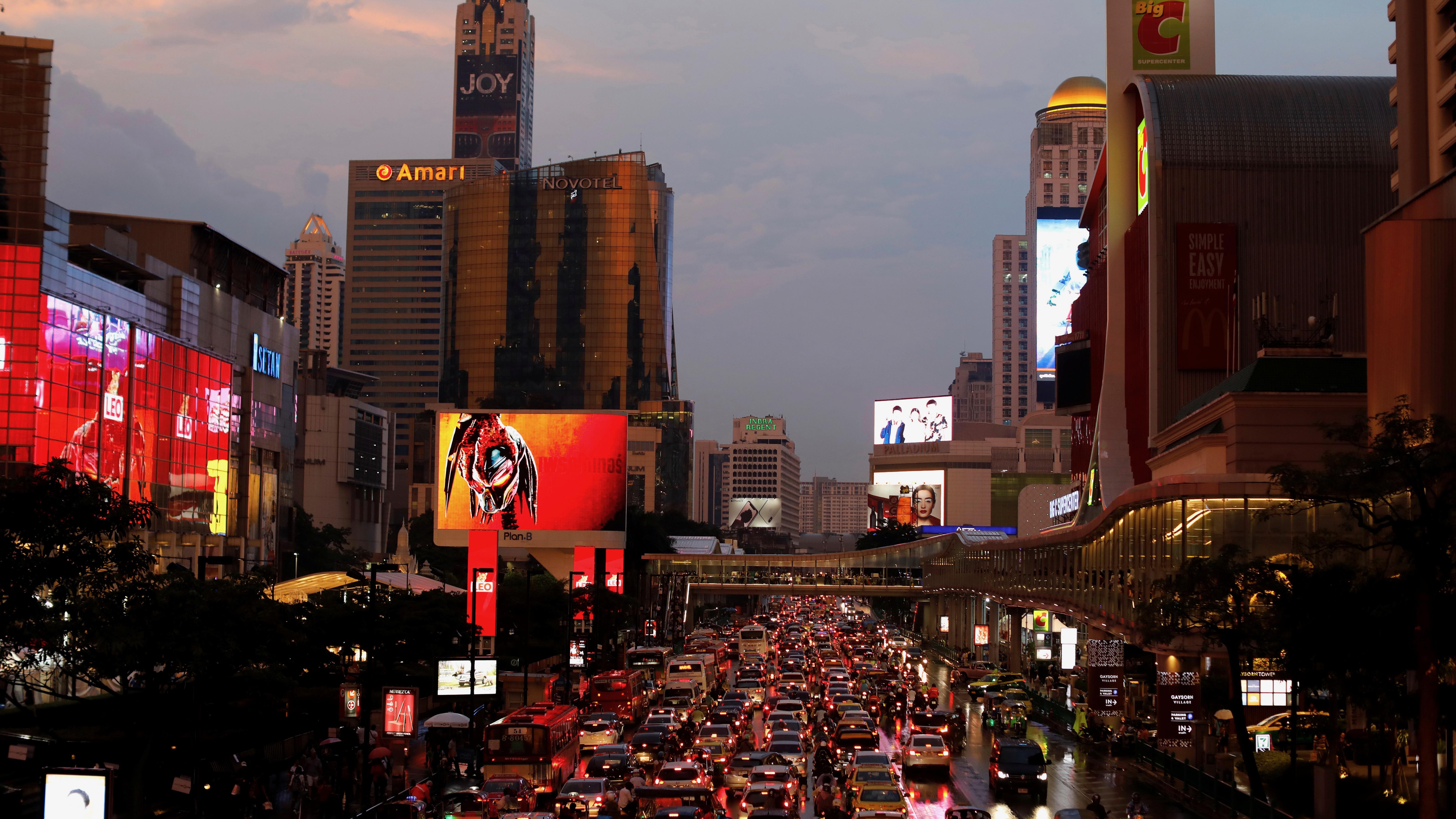 Electric vehicles would make Bangkok's rush hour a bit less noxious.
