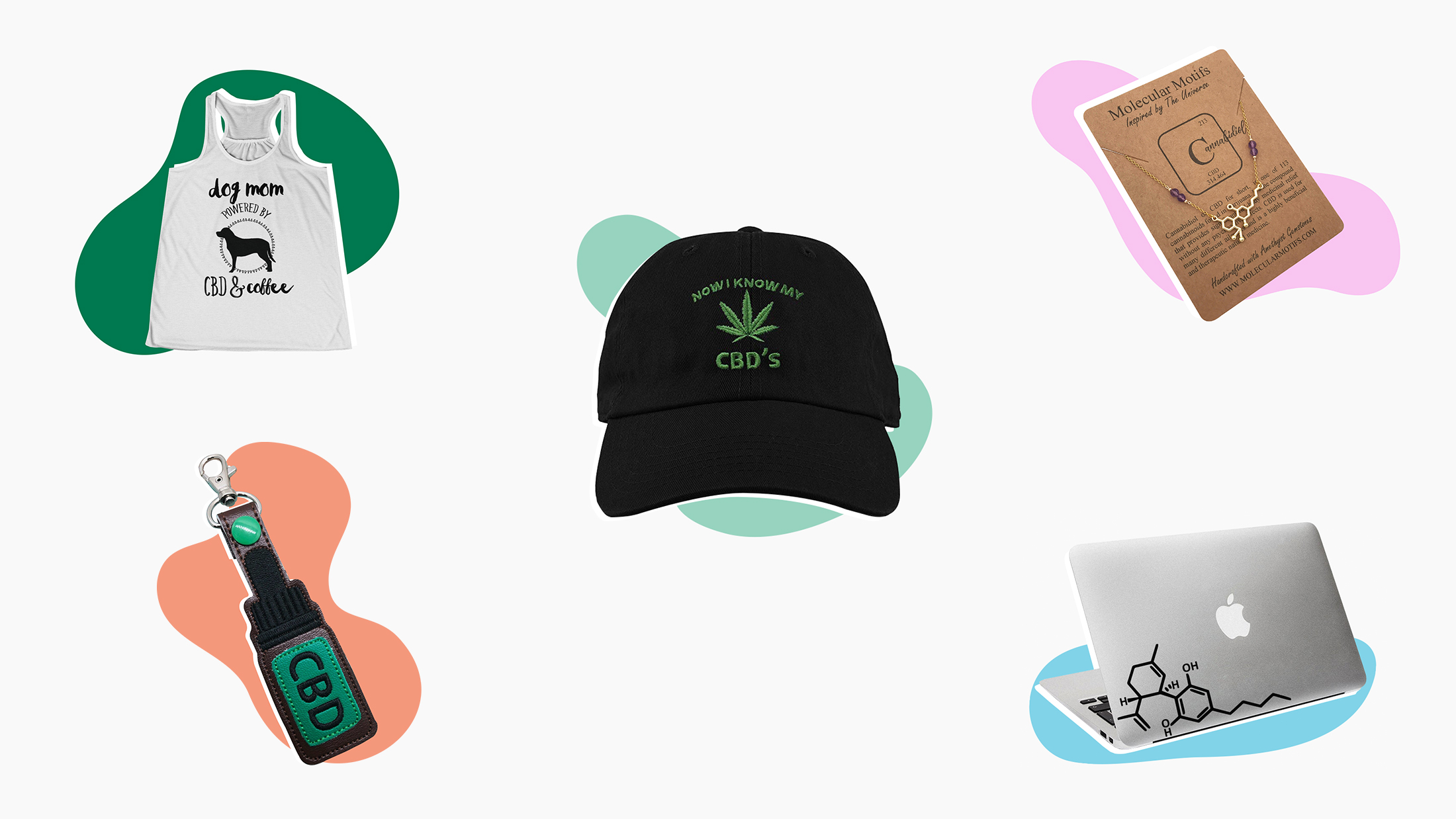 bd573b740 The rise of CBD sparked demand for CBD-related t-shirts and jewelry ...