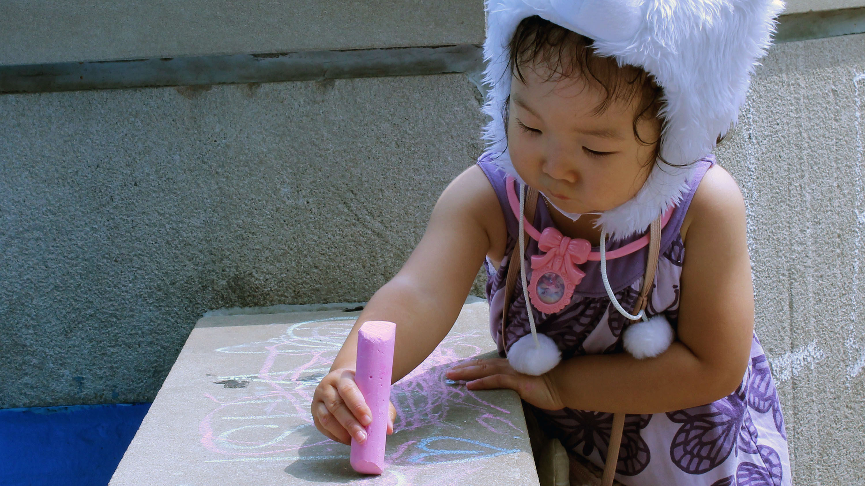 The history of sidewalk chalk drawings