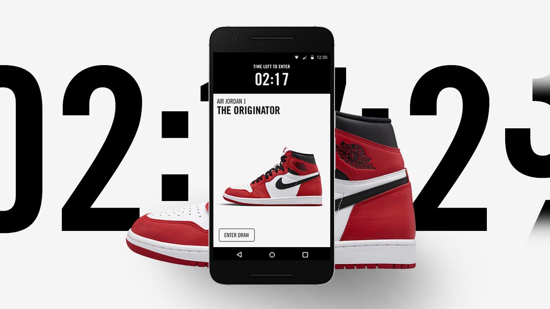 Nike SNKRS app image