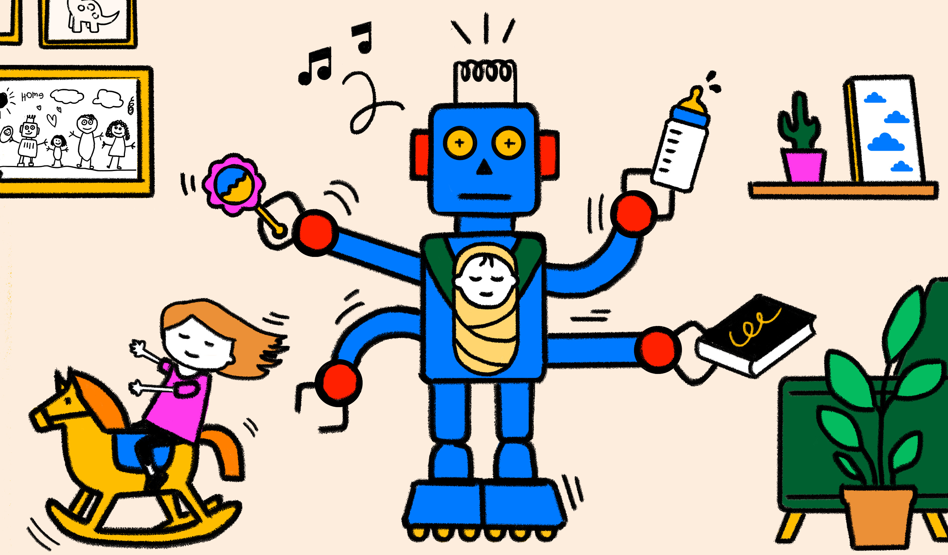 Tech for kids will soon automate away the job of parents