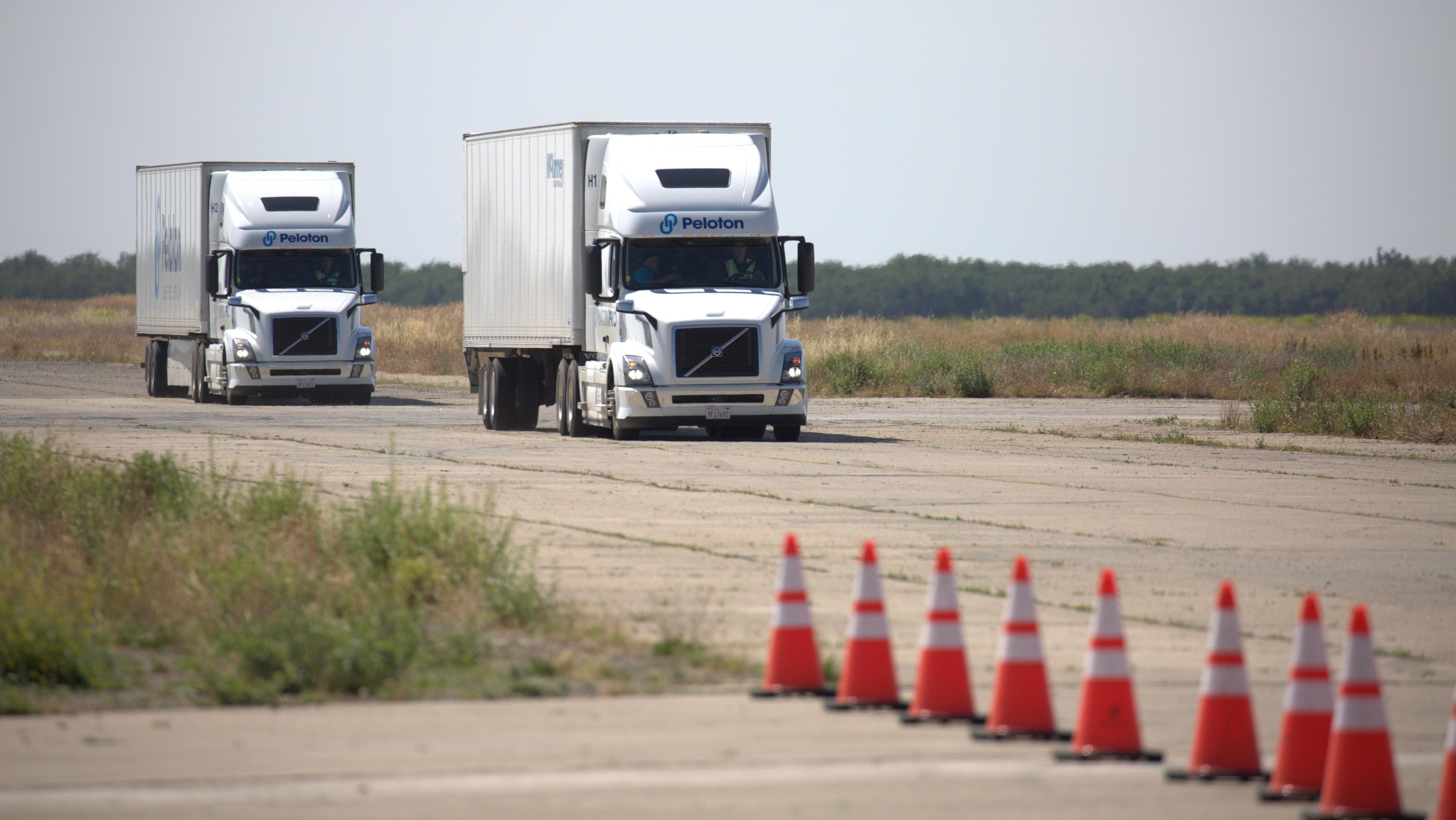 Peloton's self-driving semi truck is coming — Quartz