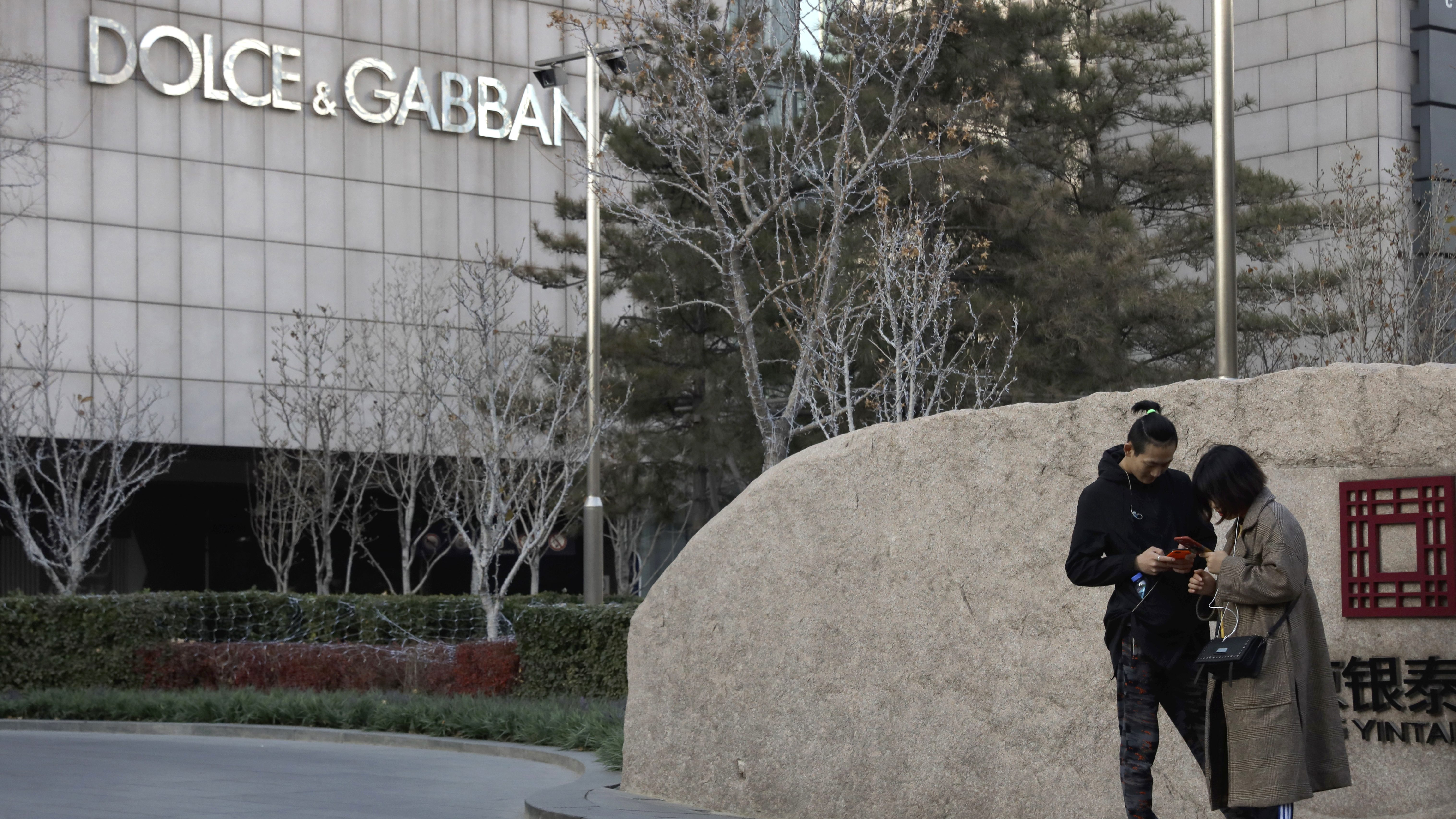 Dolce & Gabbana still shunned online in China after racism controversy