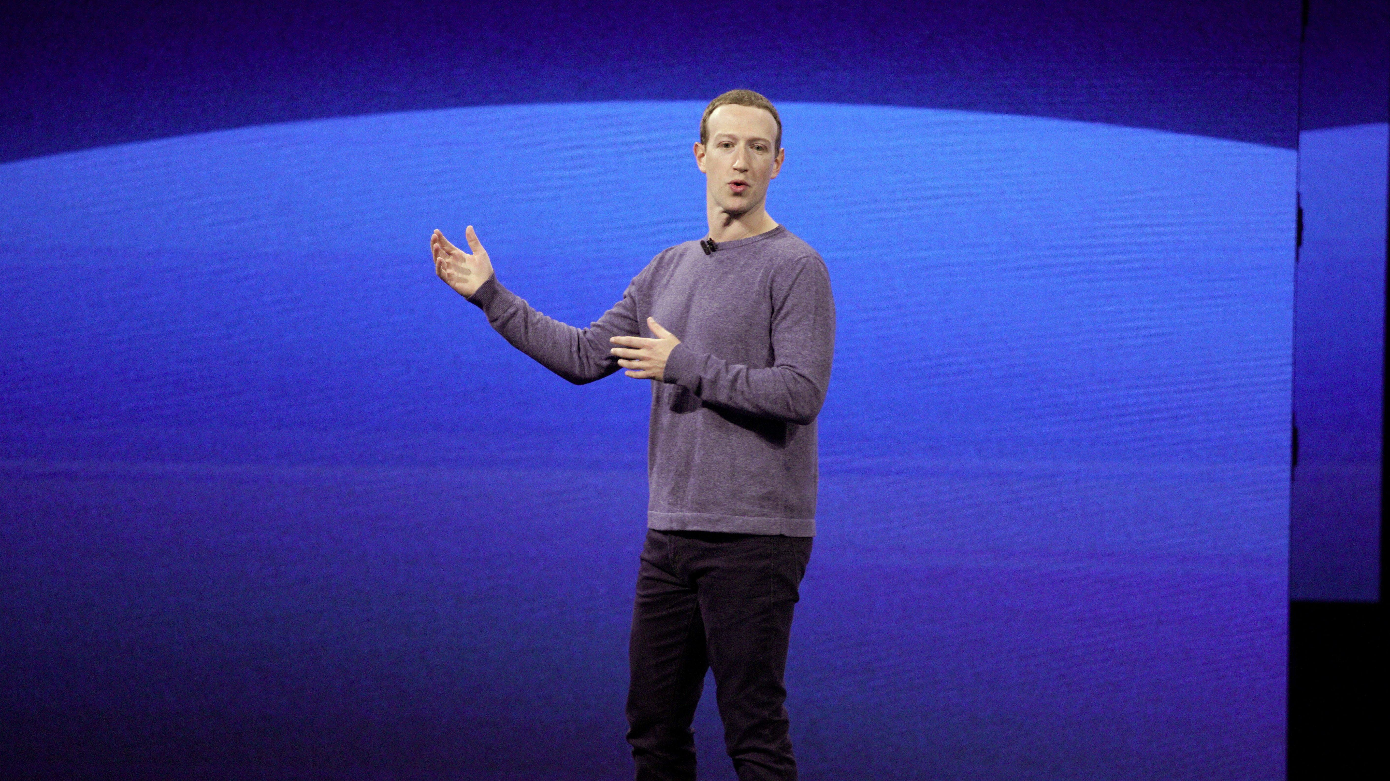 Facebook founder Mark Zuckerberg