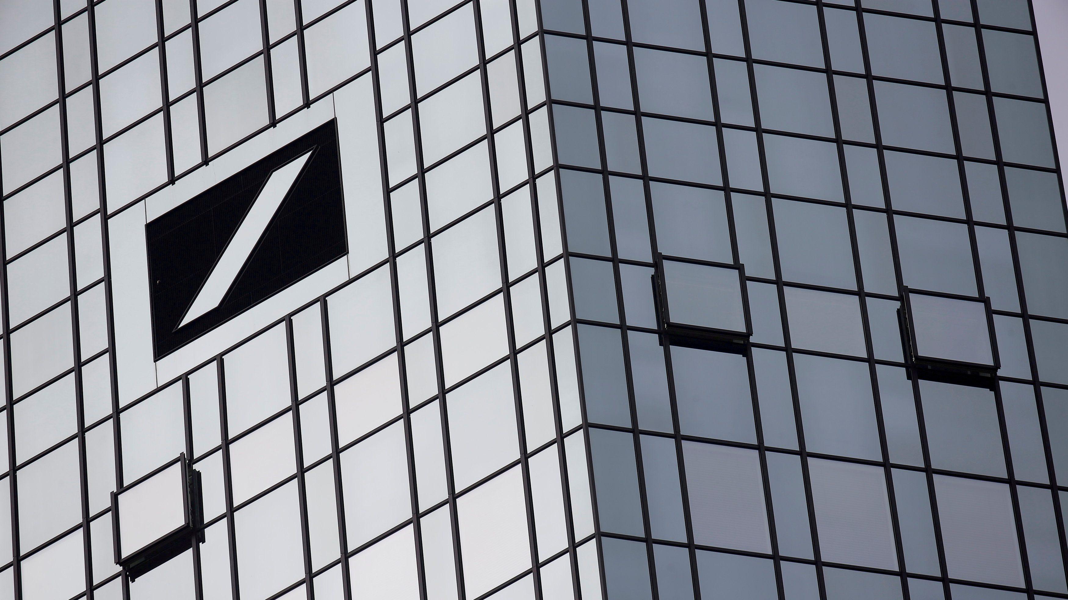 The Deutsche Bank headquarters are seen in Frankfurt, Germany October 29, 2015.