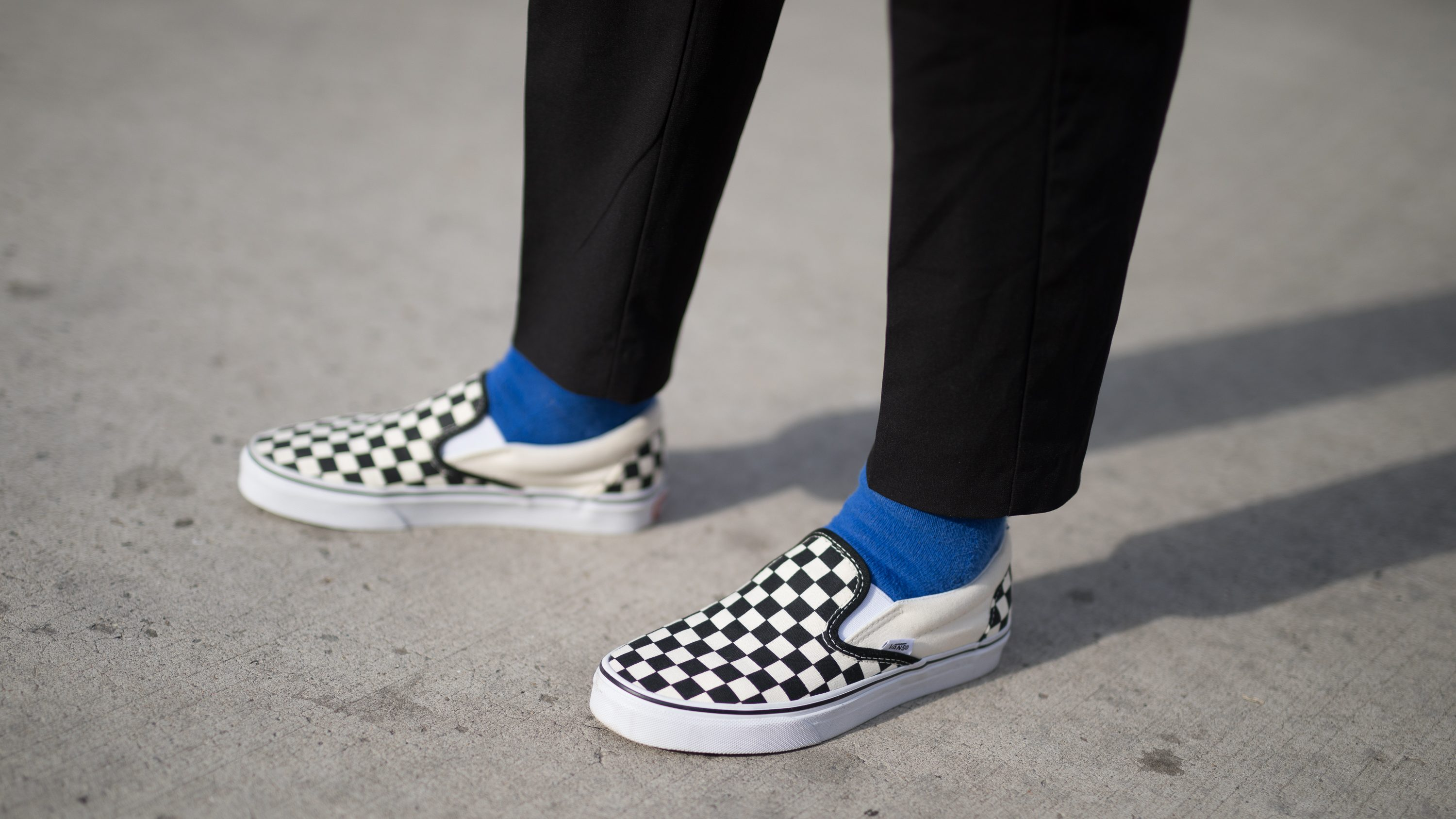 Vans upgraded their classic checkerboard slip ons, and they