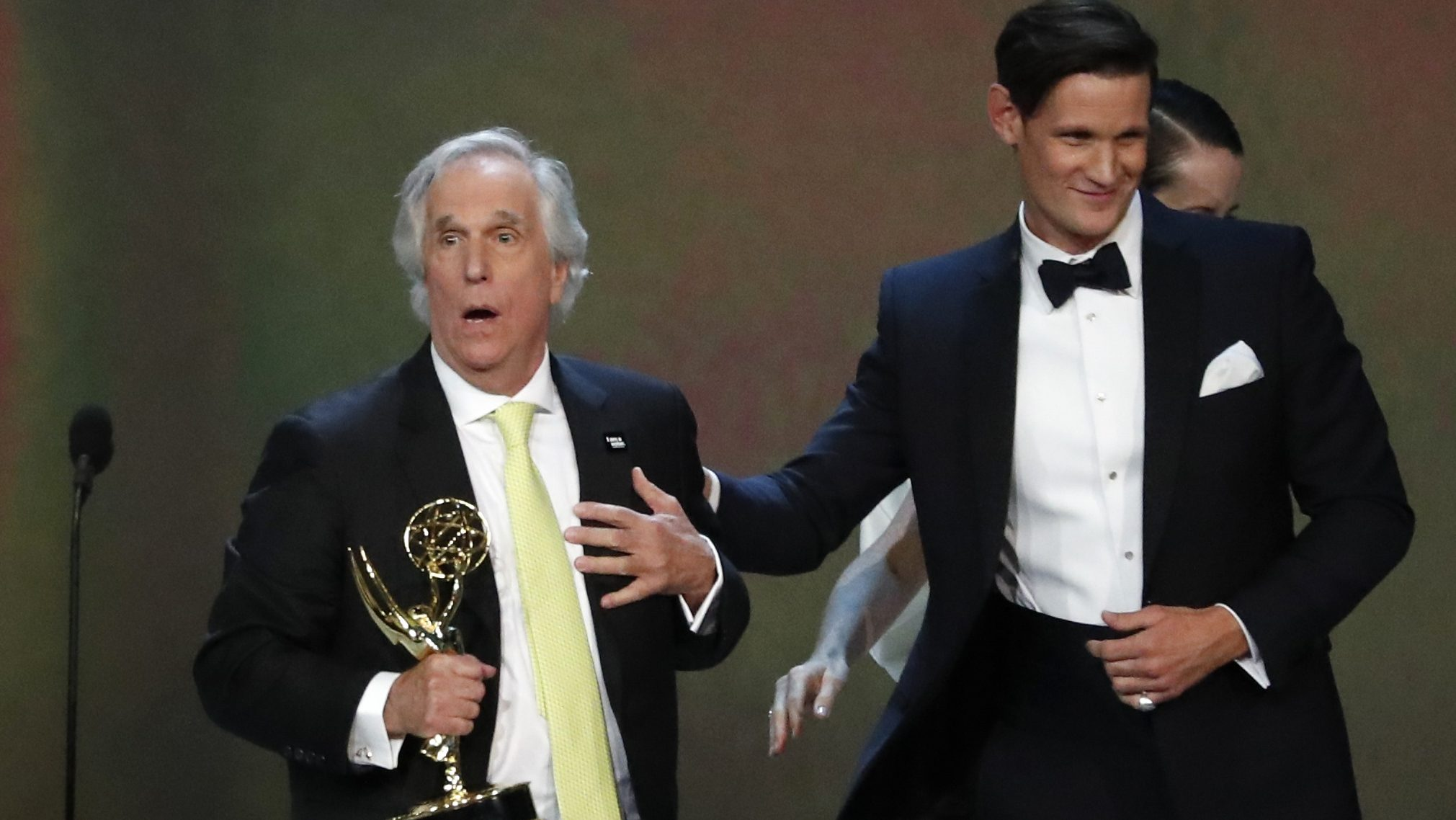 """Henry Winkler is glad """"Happy Days"""" jumped the shark"""