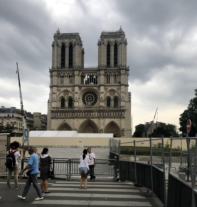 Gensler shares design for temporary Notre-Dame worship