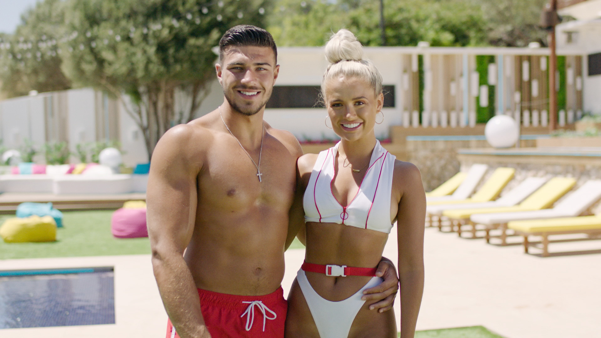 Contestants on the 2019 series of UK reality show Love Island