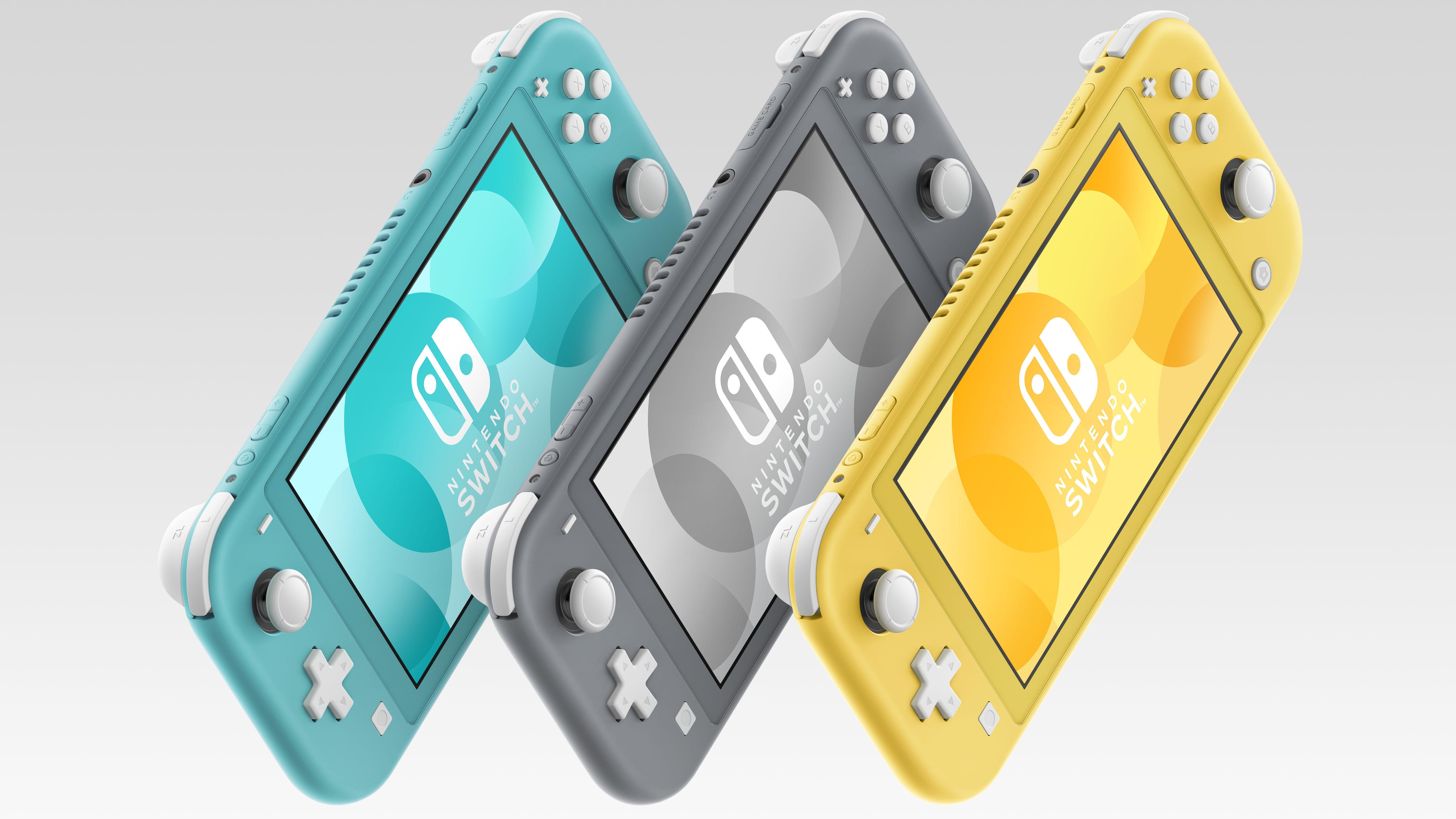 The Nintendo Switch Lite