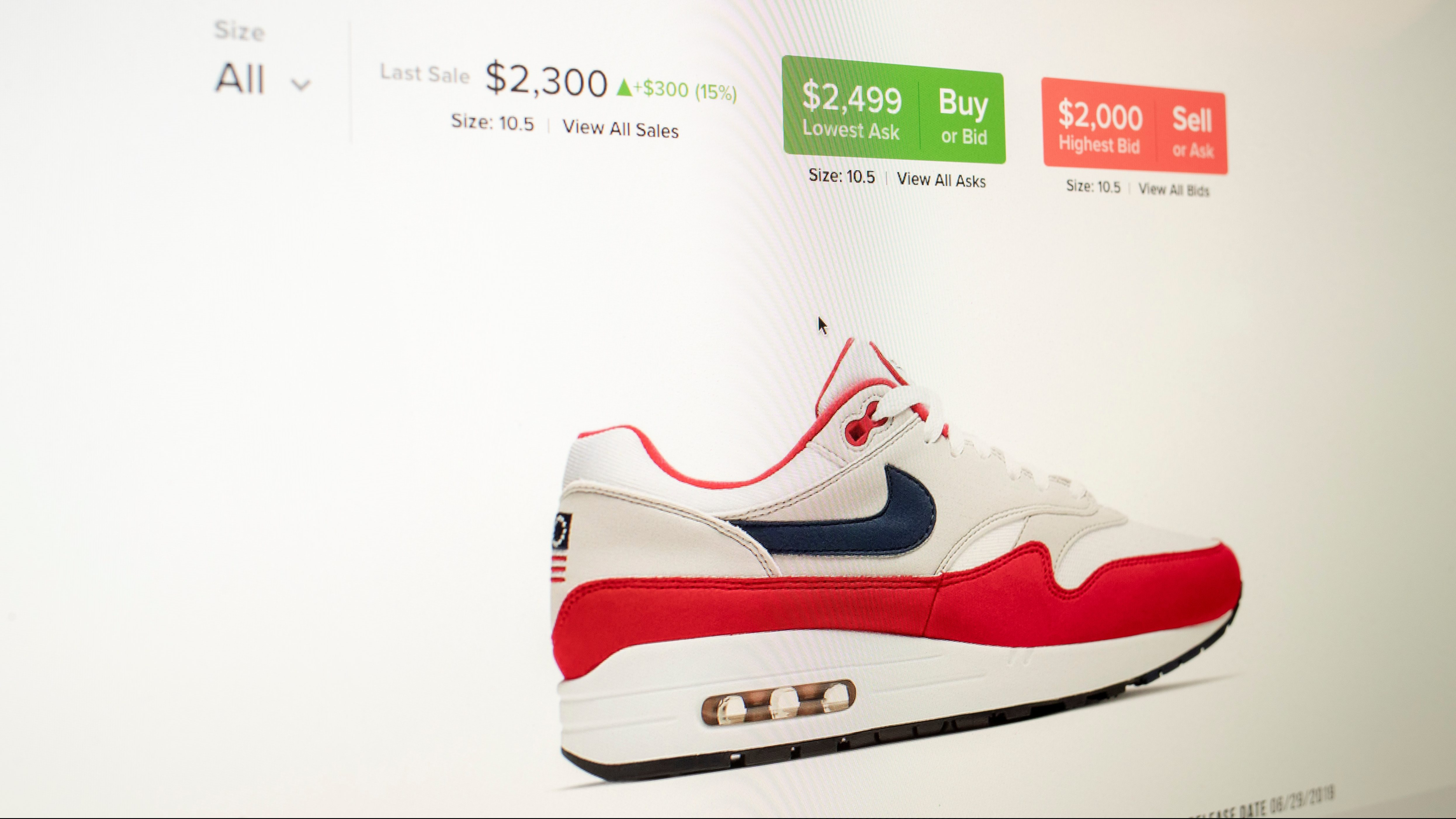 StockX ends sales of Nike's recalled July 4 shoes — Quartzy