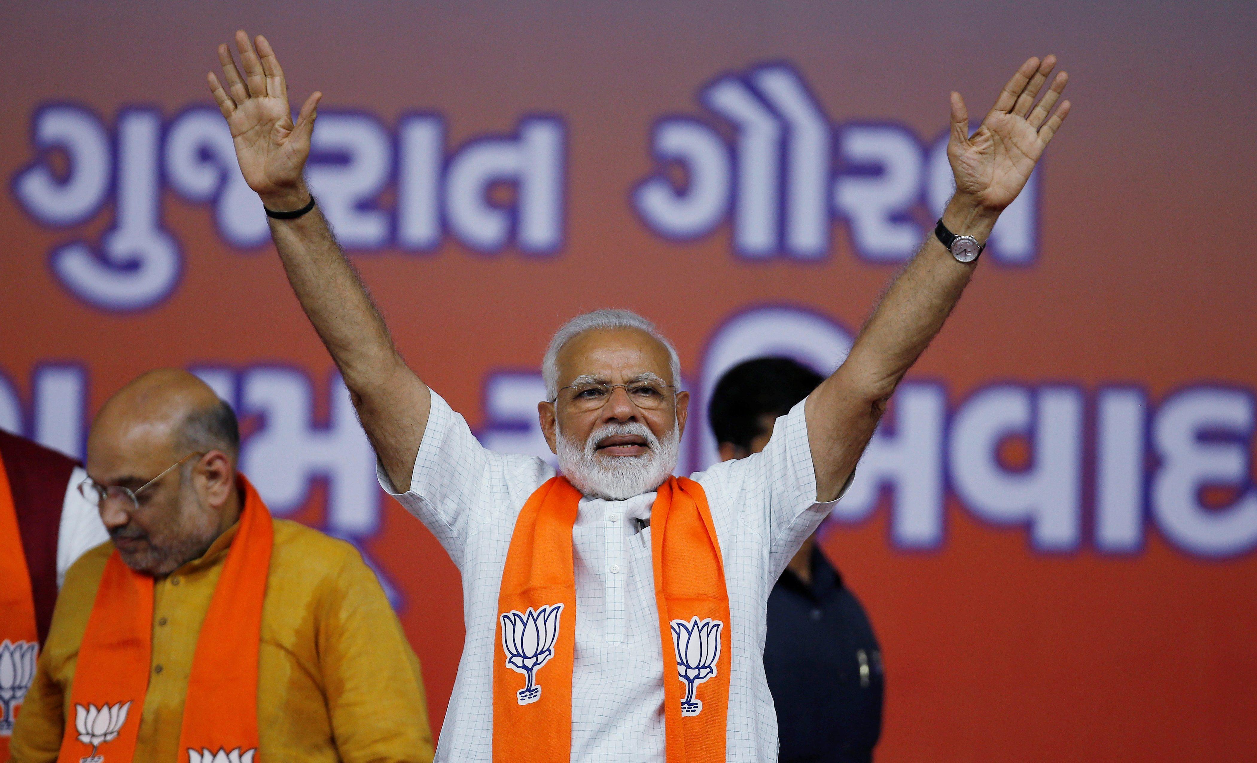 Modi more admired than Pope Francis, Dalai Lama, Ronaldo, Messi