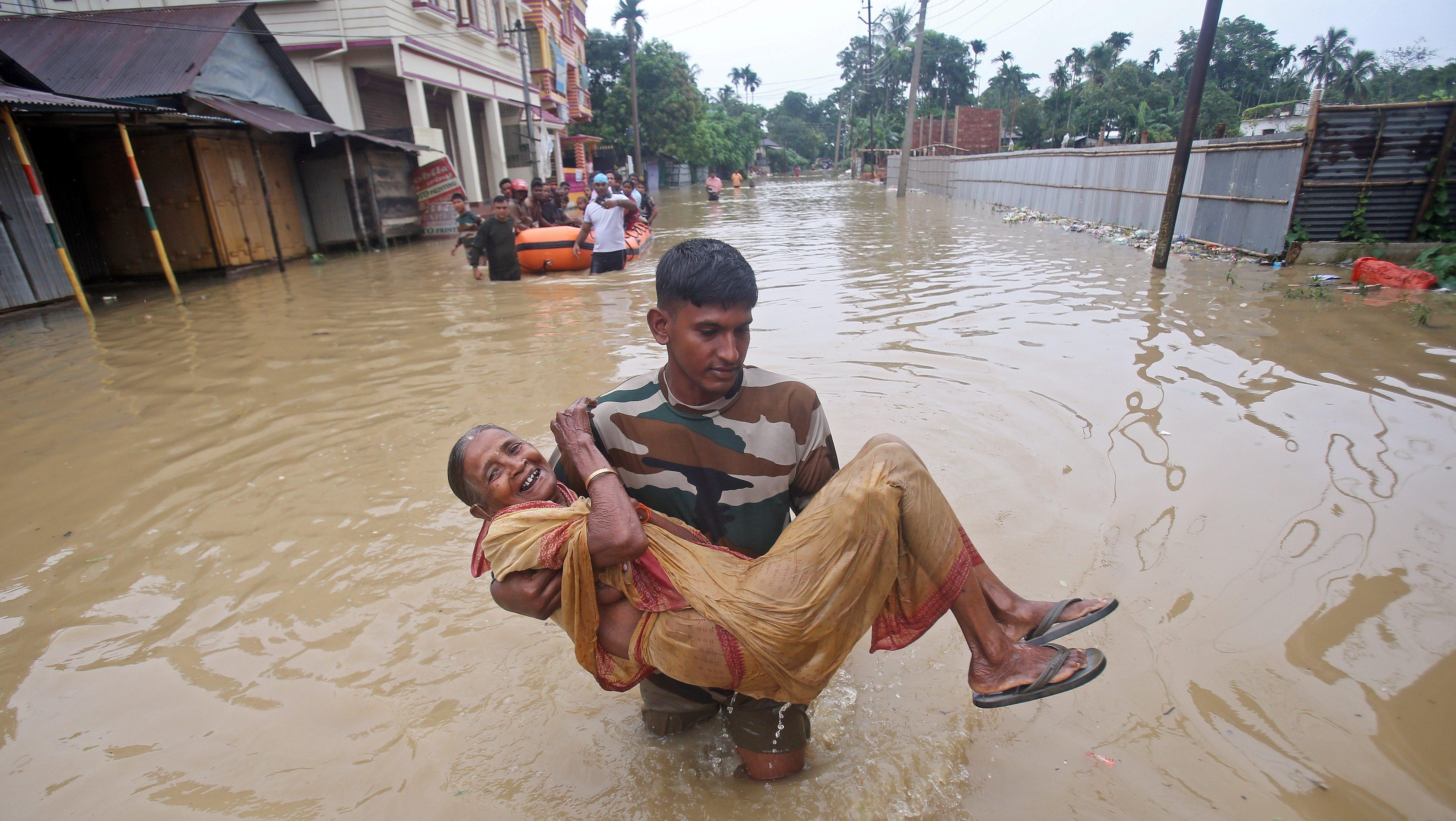 Assam, Bihar, Mumbai reel under the fury of the Indian monsoon