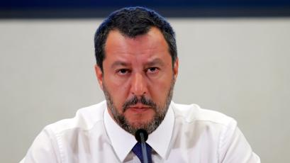 An image of Matteo Salvini