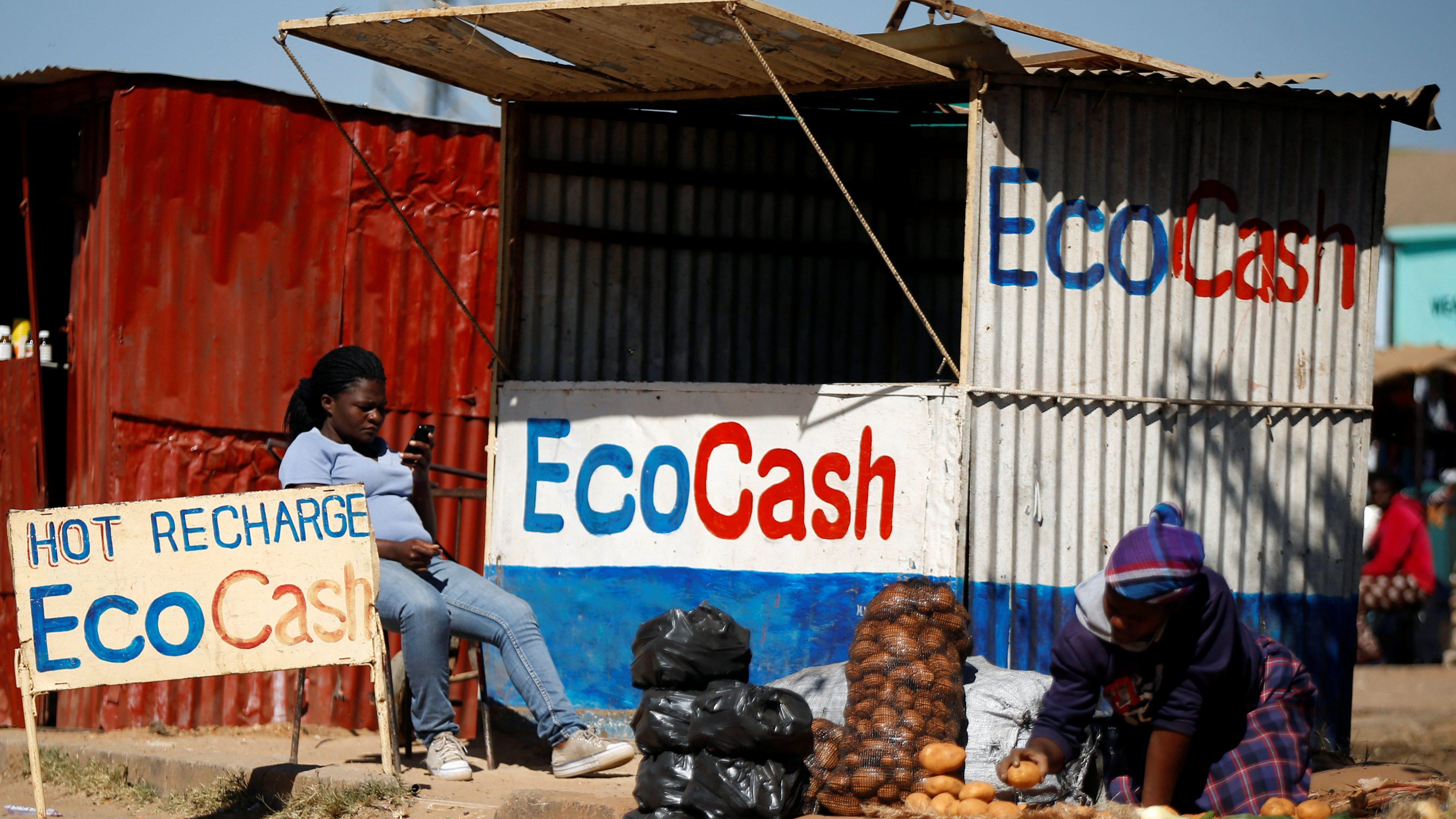 Zimbabwe power blackout hits EcoCash, vulnerable economy