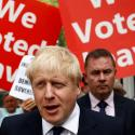 Boris Johnson, a leadership candidate for Britain's Conservative Party, leaves his office in London, Britain July 22, 2019.