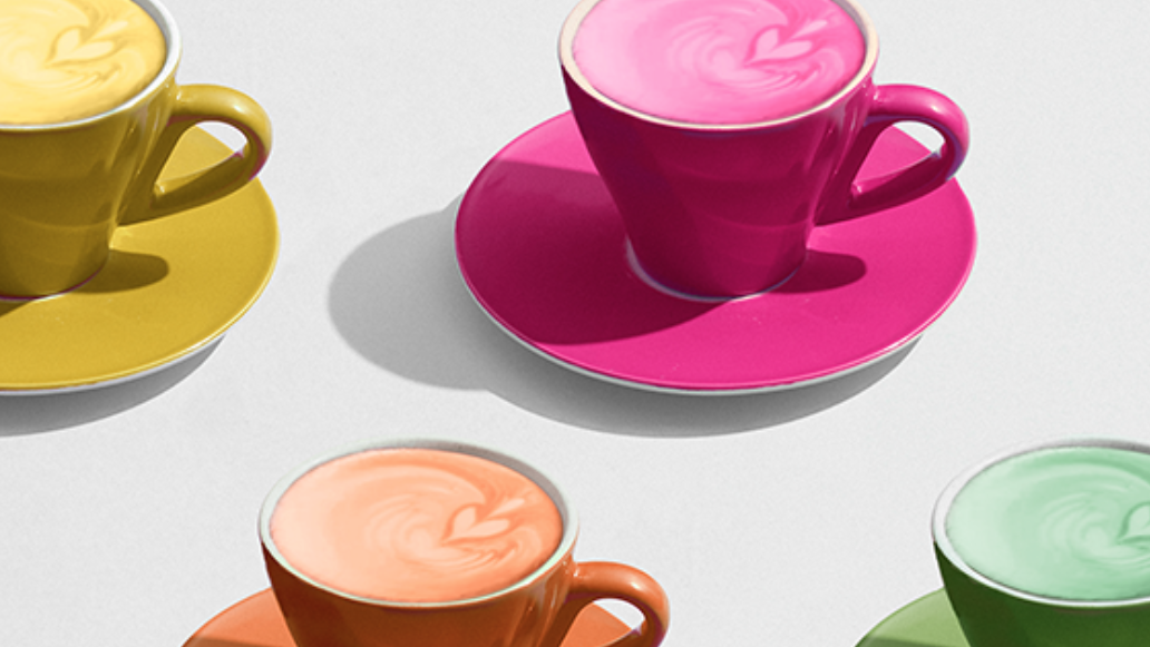 LG showcases its TV with a Pantone pop-up cafe