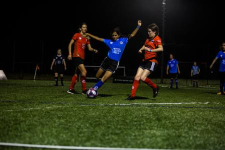 Female soccer players are breaking world records for