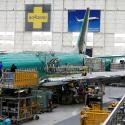 The troubled Boeing 737 Max.