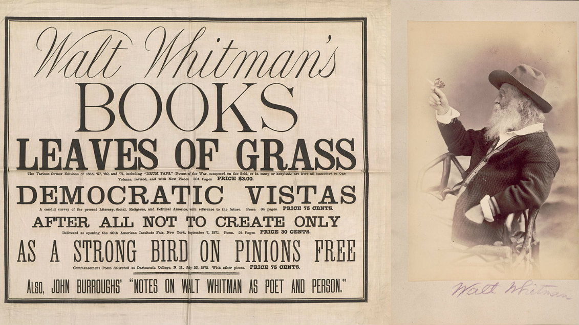Walt Whitman was a pioneer of self-promotion