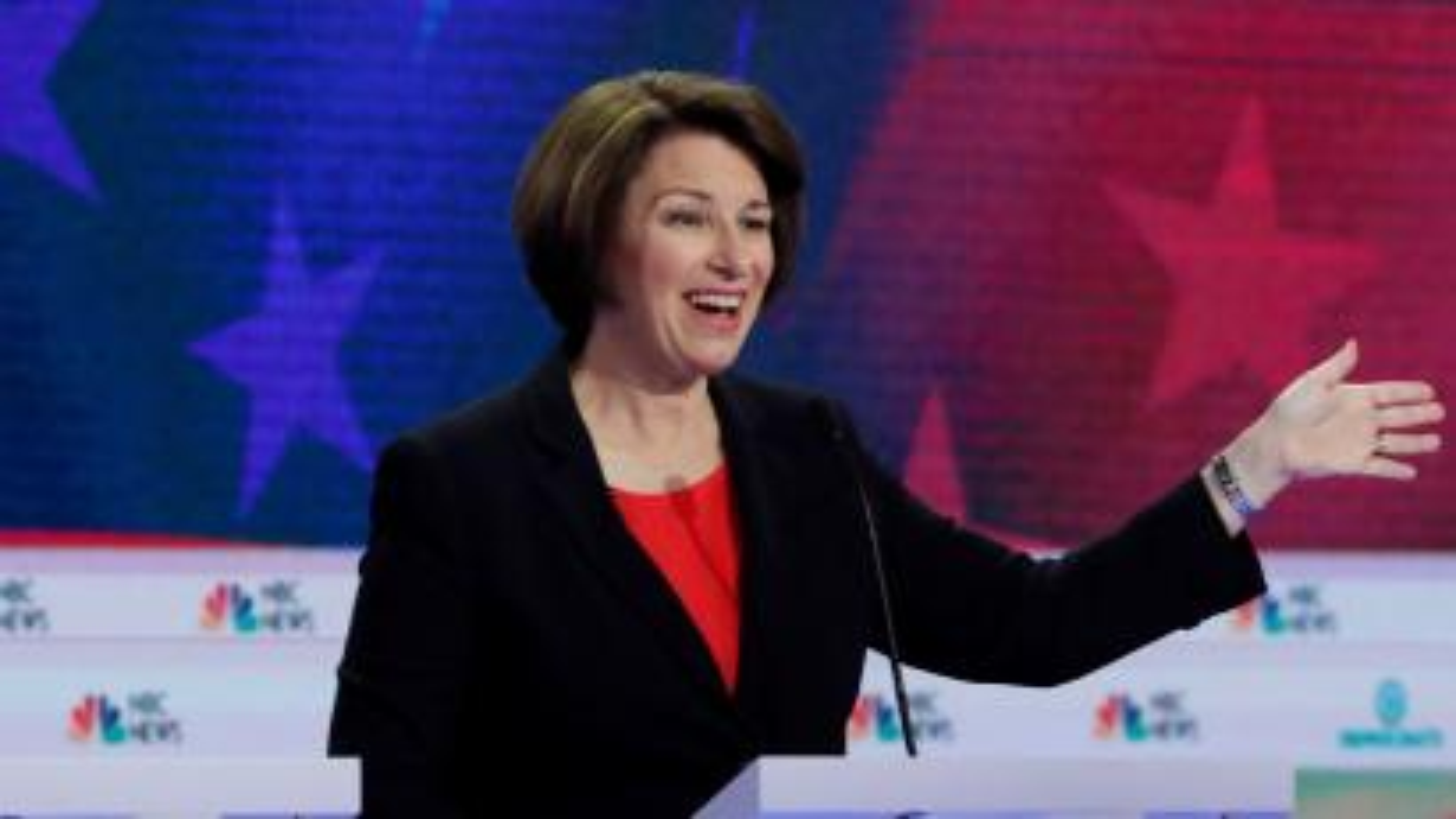 Senator Amy Klobuchar will bring us folksy aphorisms.