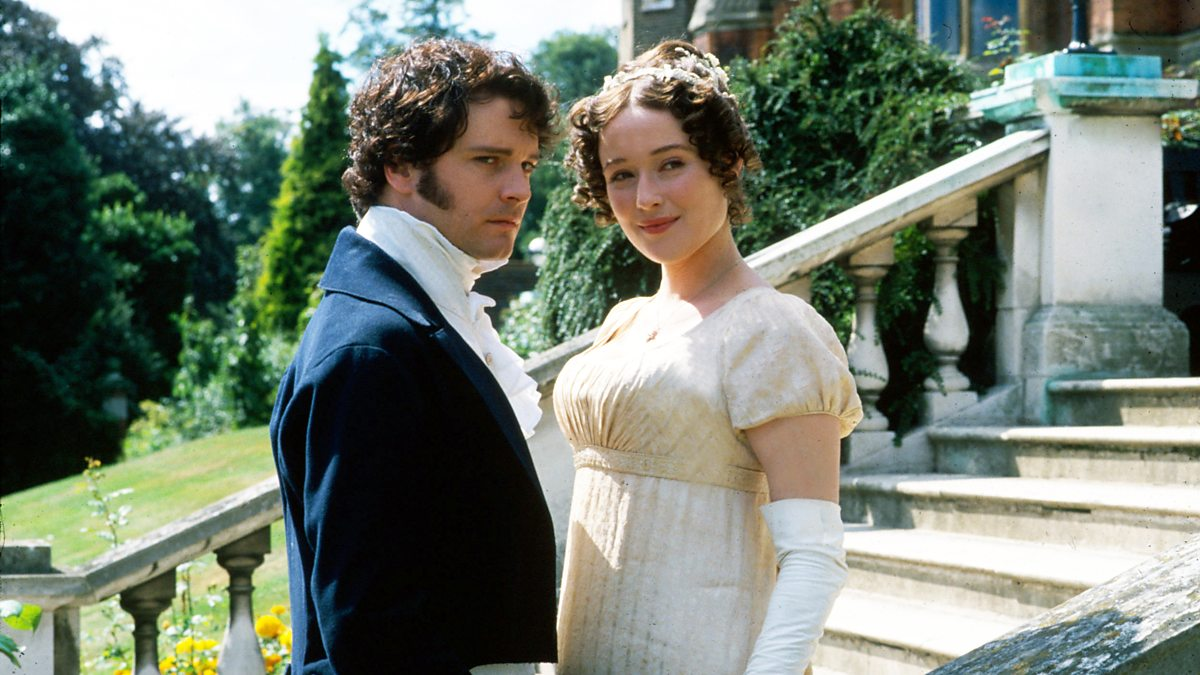 Colin Firth and Jennifer Ehle in the BBC's adaptation of Jane Austen's Pride and Prejudice