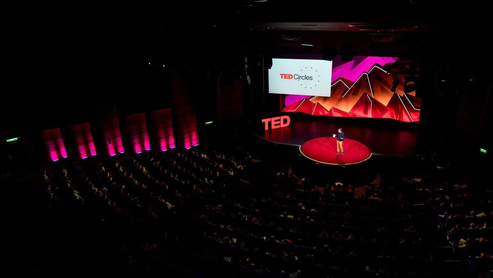 Chris Anderson speaks at TEDSummit
