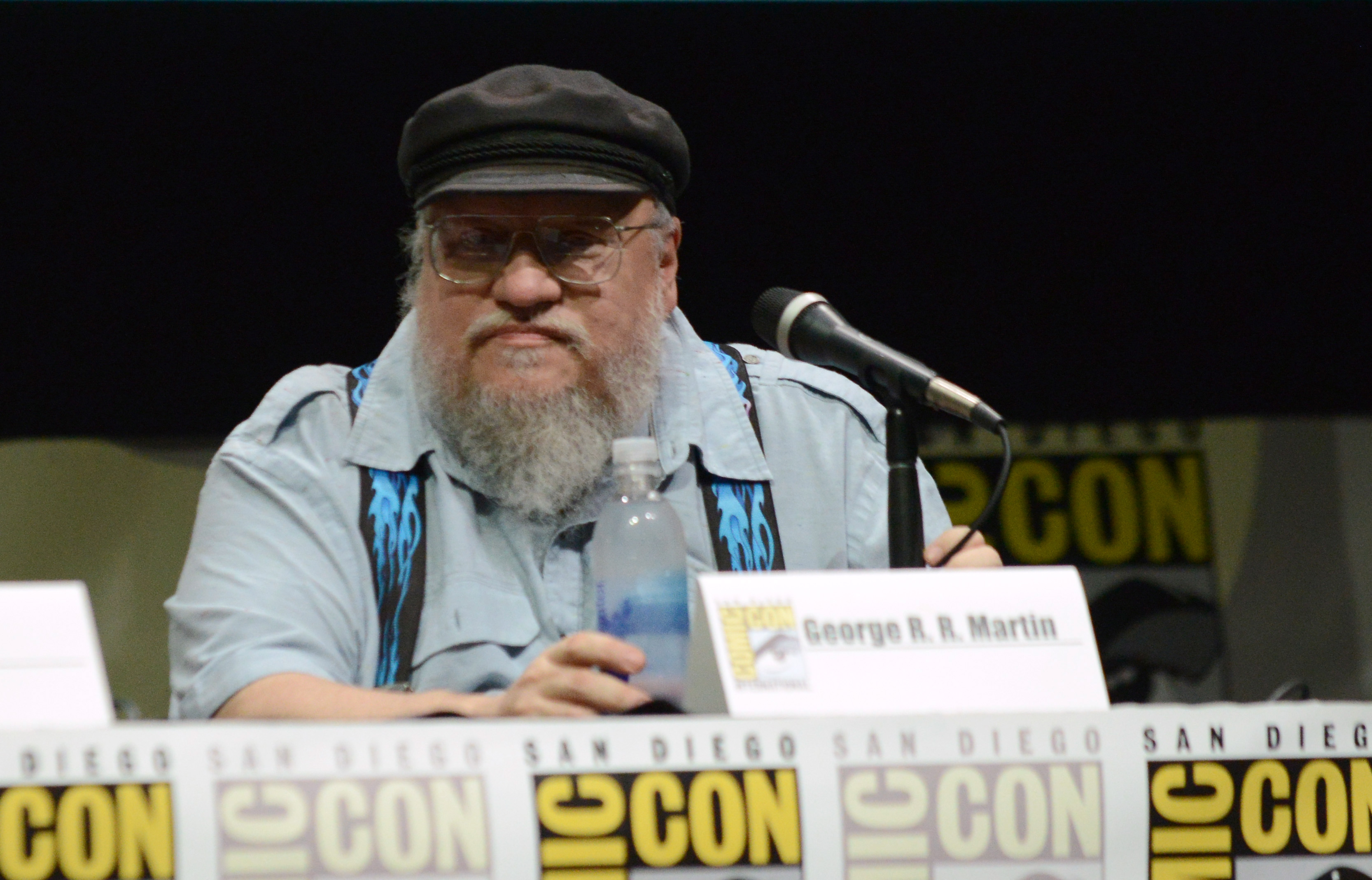 "George R.R. Martin relieved HBO's ""Game of Thrones"" is over"