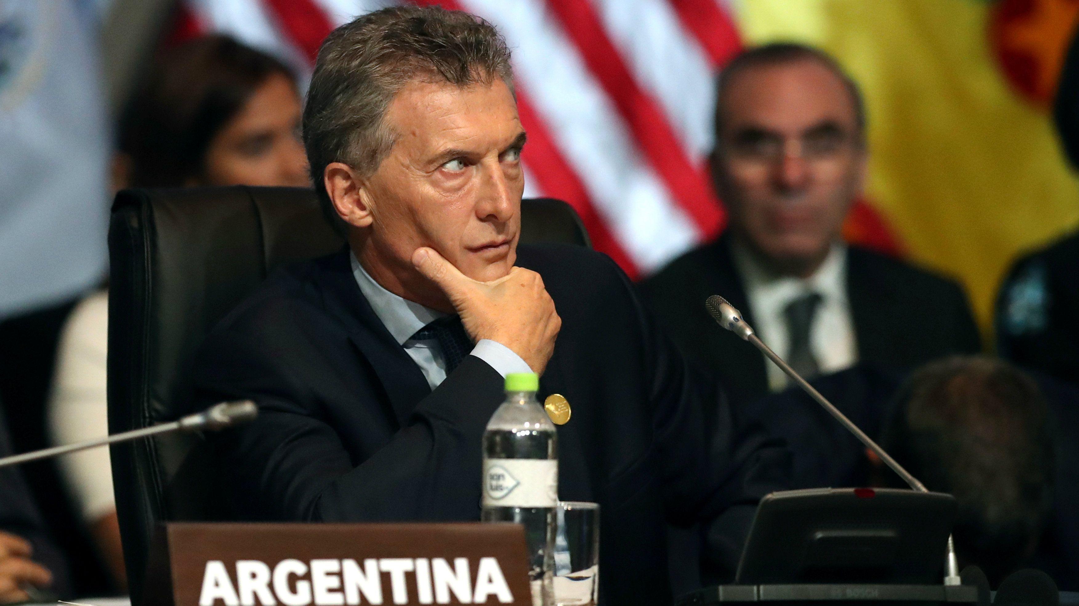 Mauricio Macri, President of Argentina