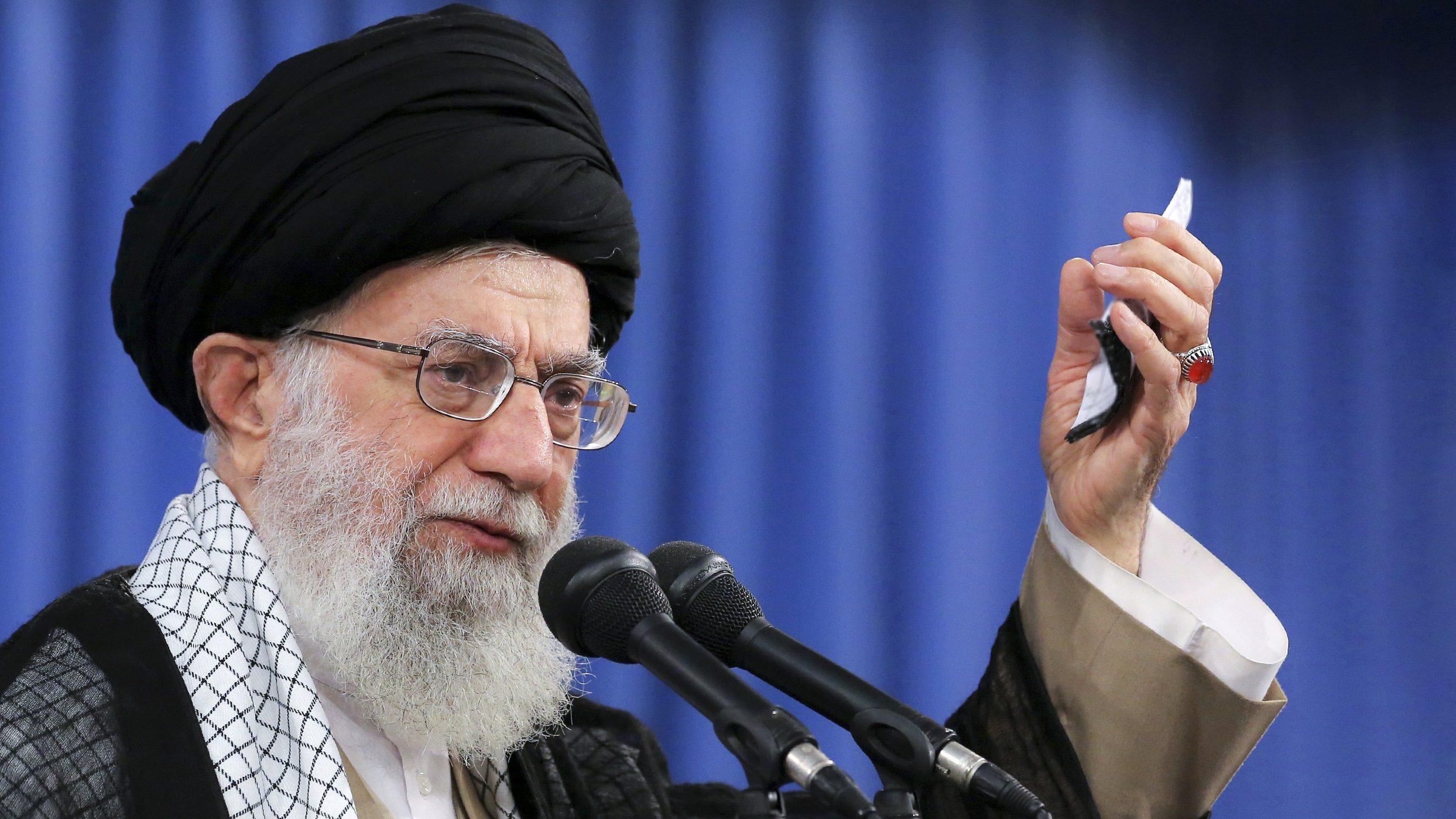 ranian supreme leader, Supreme Leader Ayatollah Ali Khamenei