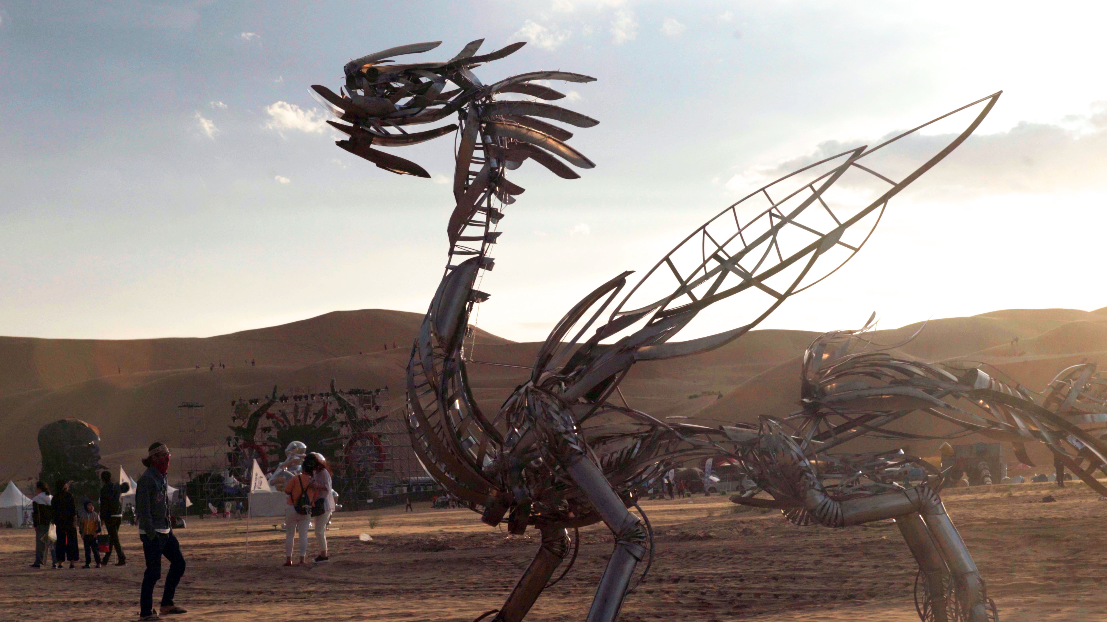 Gobi Heaven art installation
