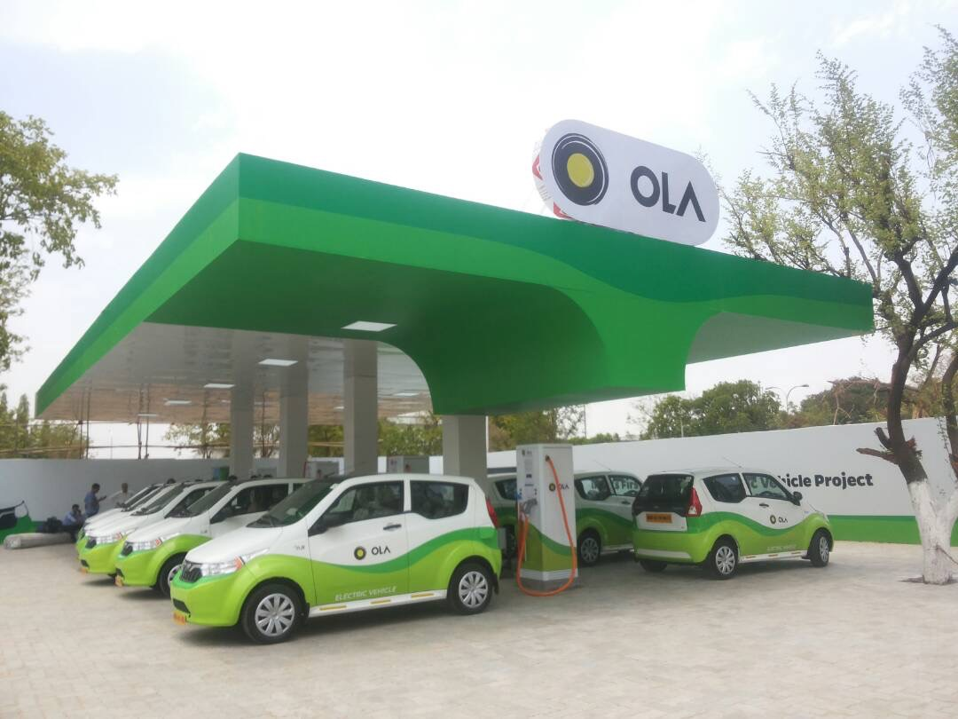 Ola charging station in Nagpur