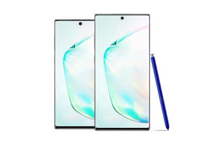 Samsung Note 10 and 10+