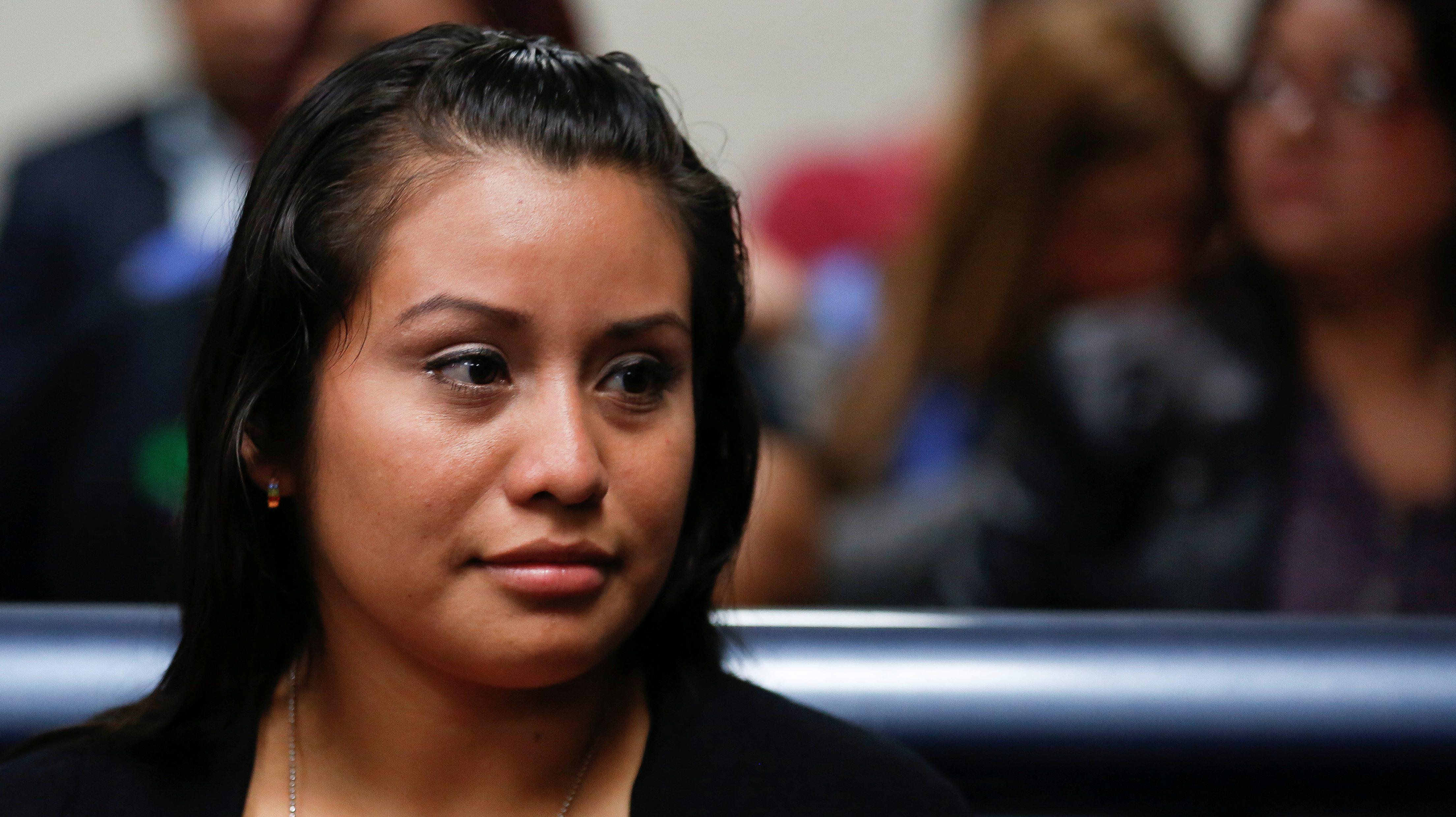 A woman accused of murder for having a stillbirth