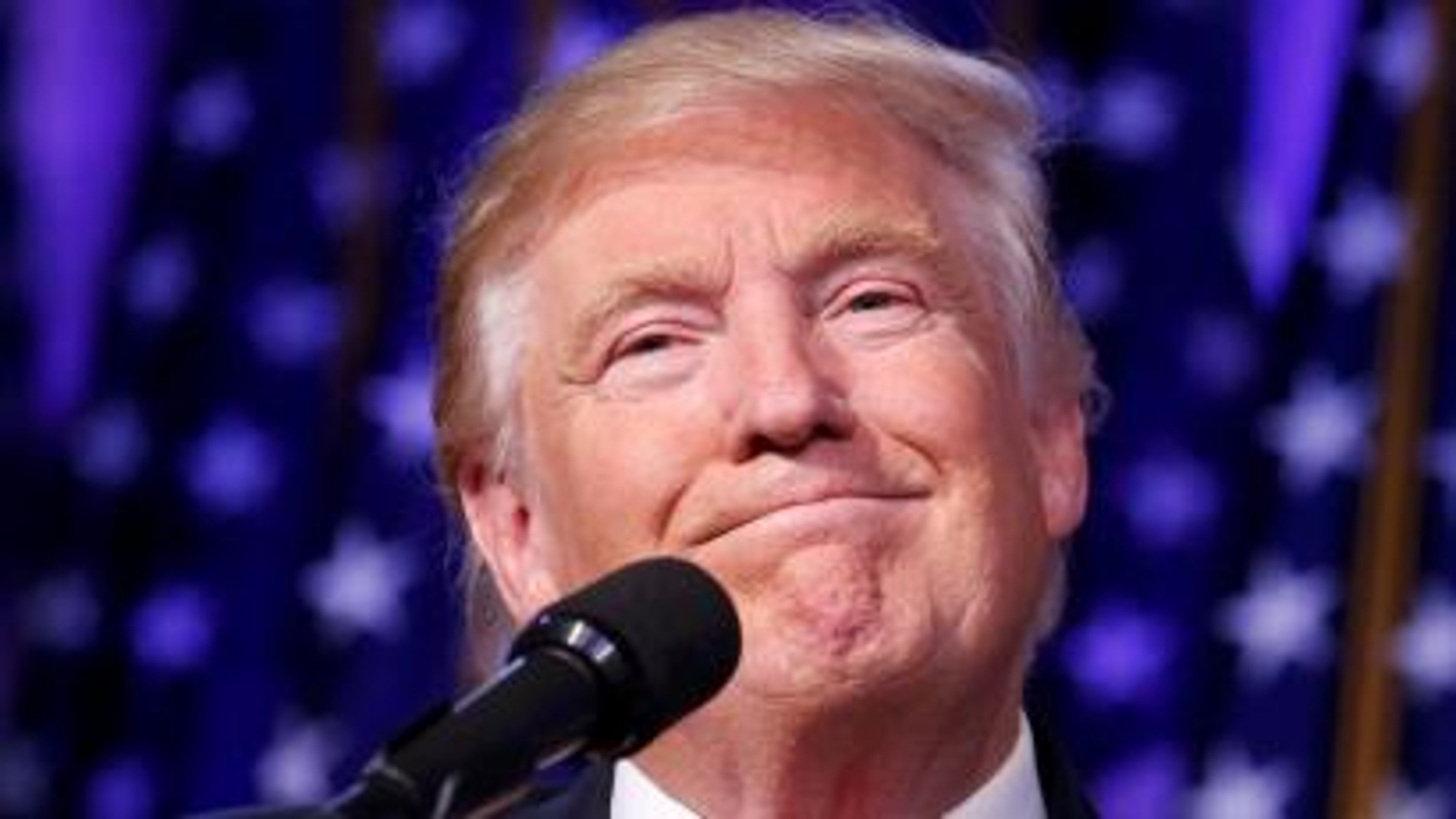 U.S. President-elect Donald Trump speaks at his election night rally in Manhattan, New York, U.S., November 9, 2016.