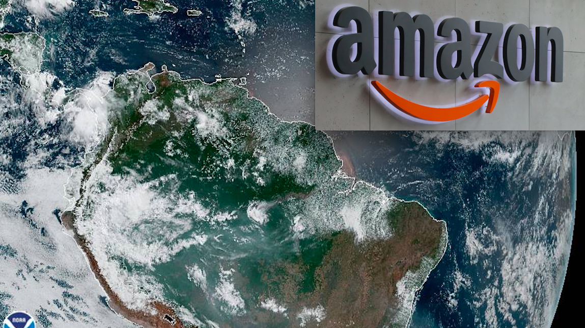 Amazon Fire tablet upstages Amazon rainforest fires on