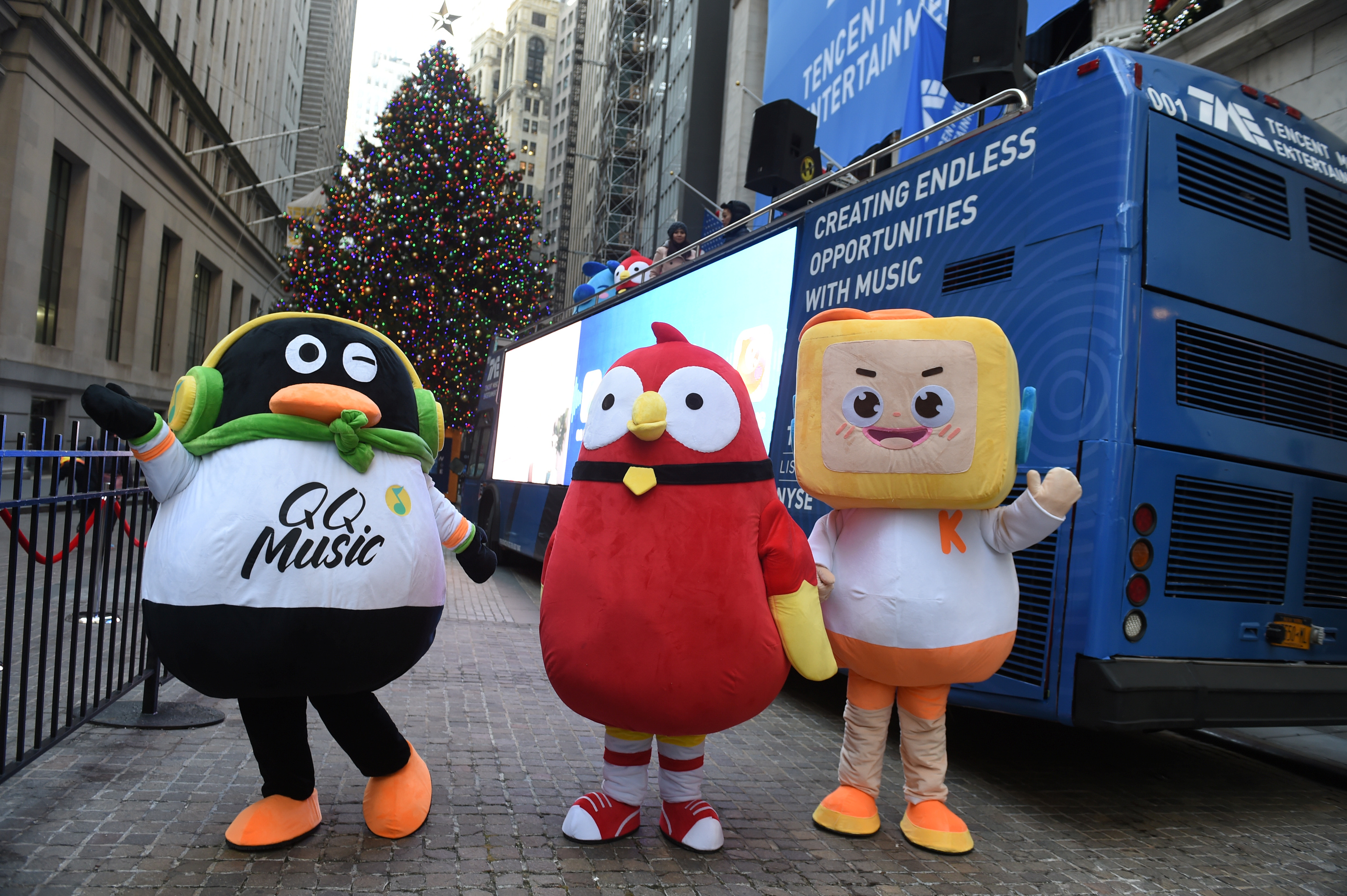 WeSing, Kugou, and Kuwo aren't growing like they used to for Tencent