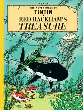 tintin shark book