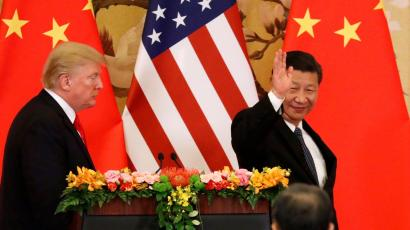 US President Donald Trump and Chinese president Xi Jinping