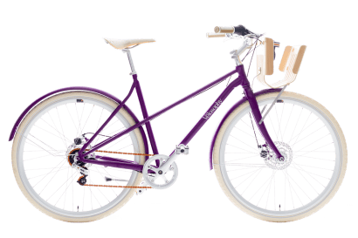 Velosophy bike made from 300 Nespresso pods