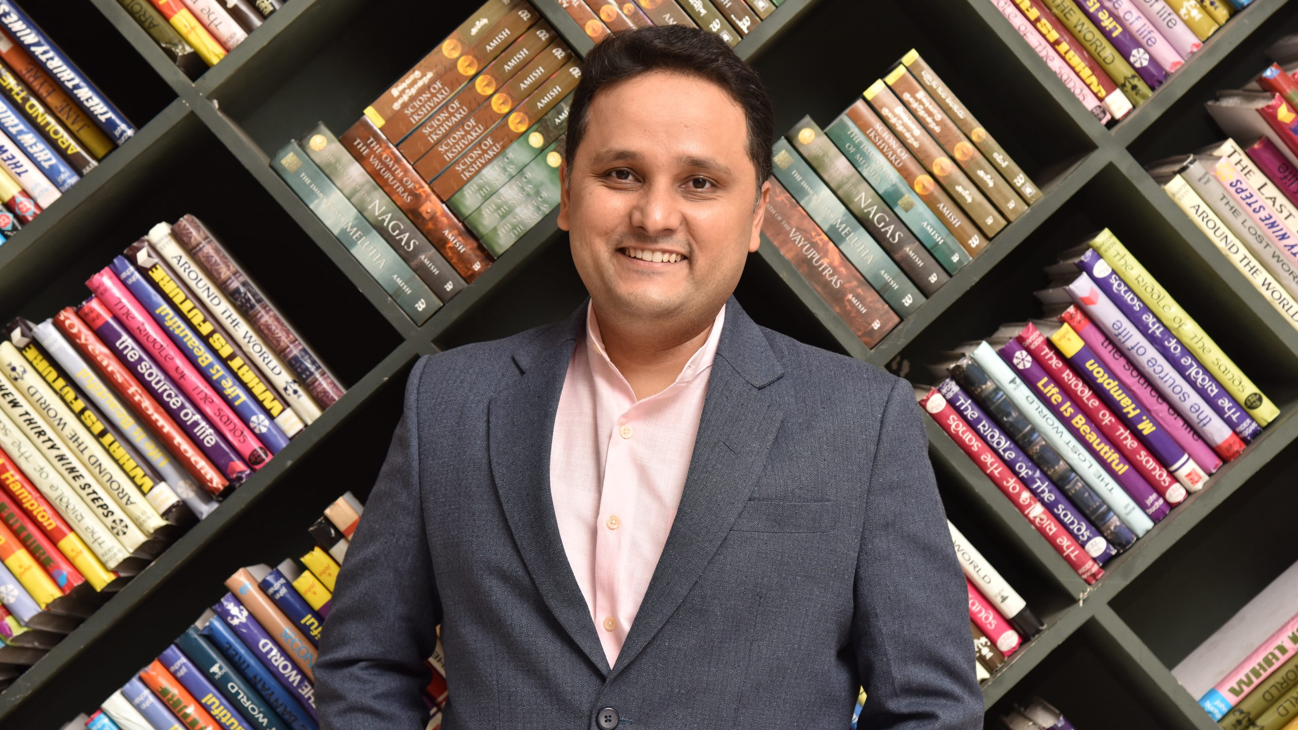Author Amish Tripathi has a 100 more Meluhas and Shivas