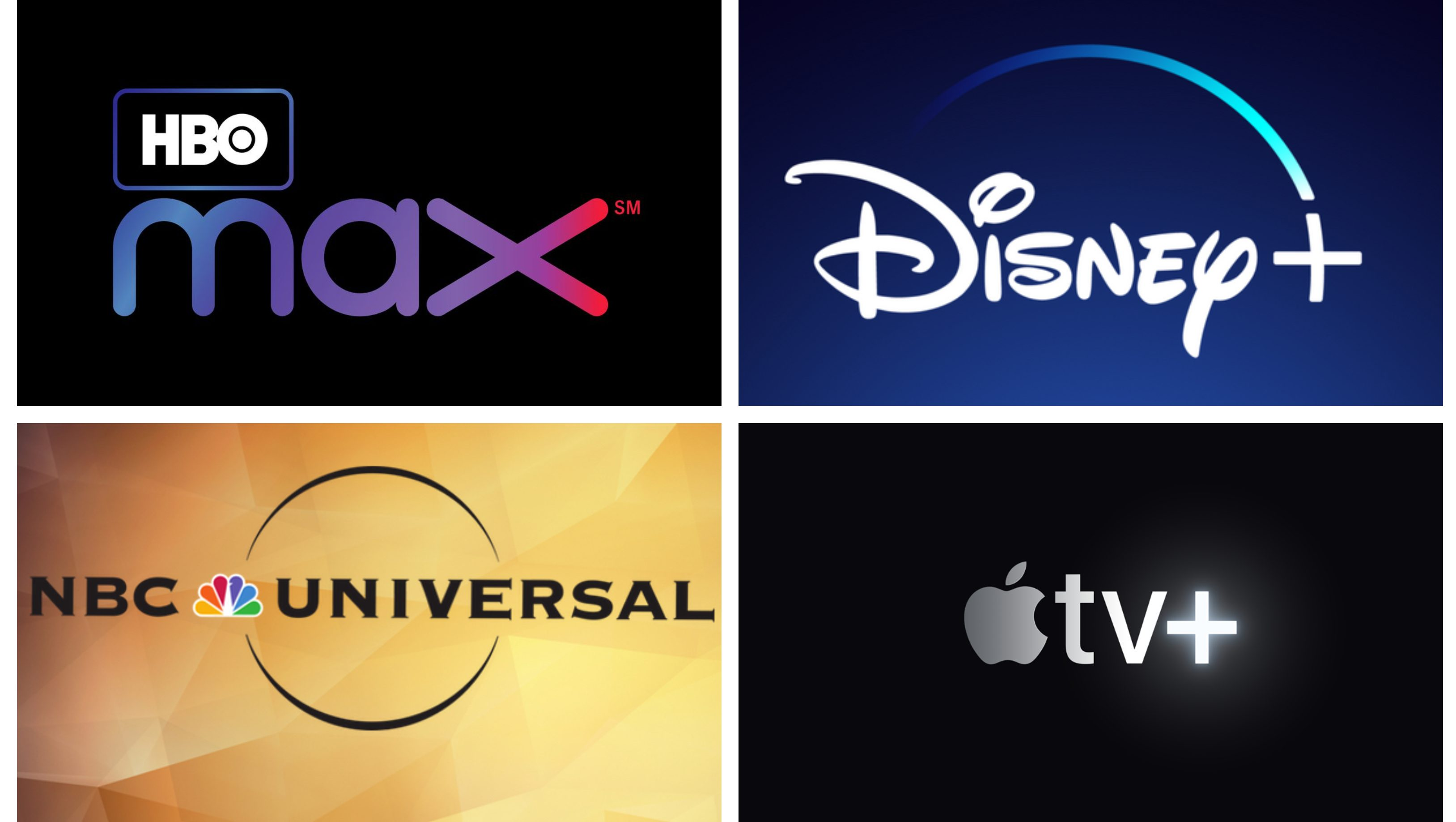 A streaming guide to Disney+, Apple TV+, HBO Max, and NBCUniversal