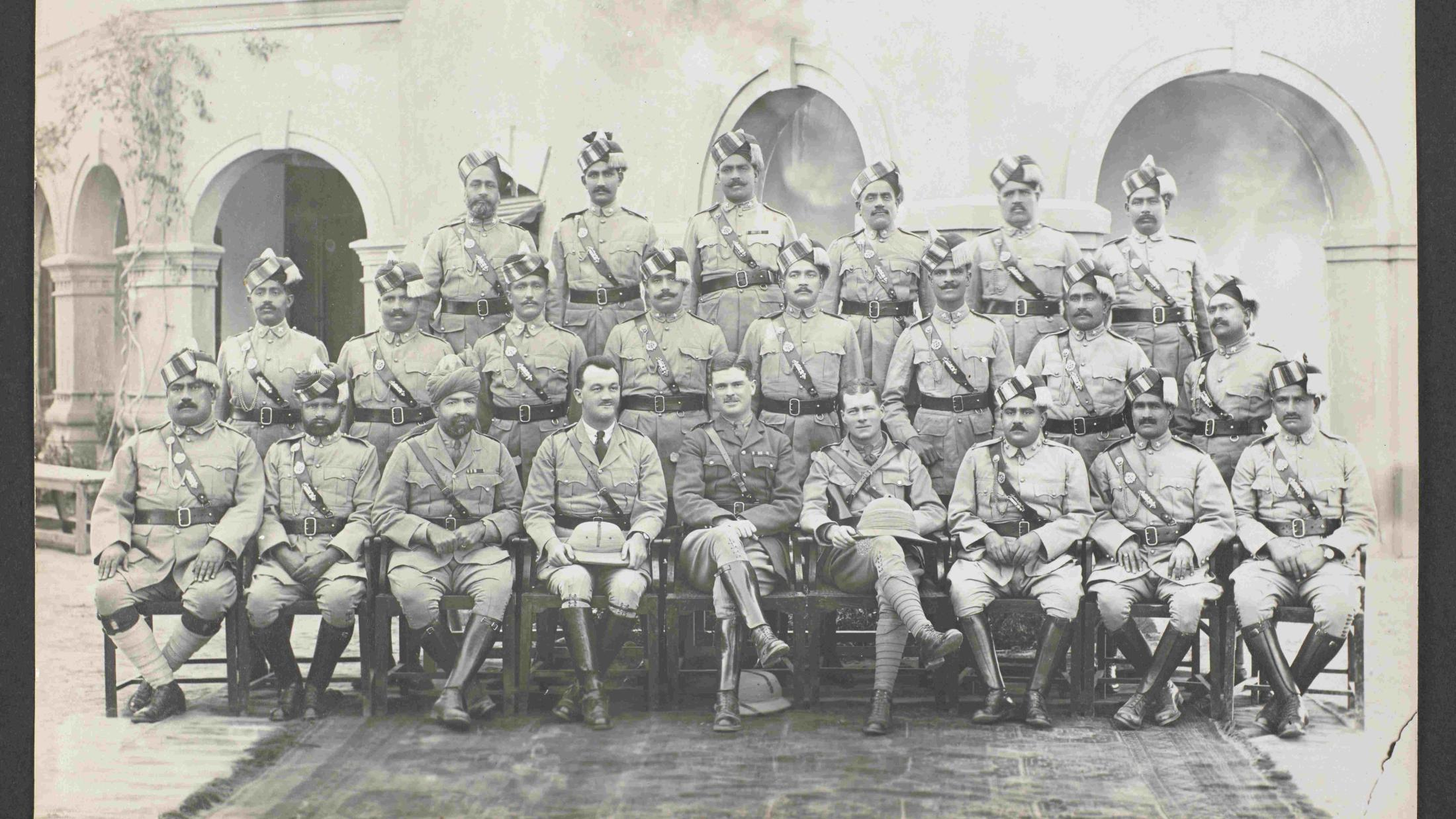 What the British Indian police exams looked like a century ago