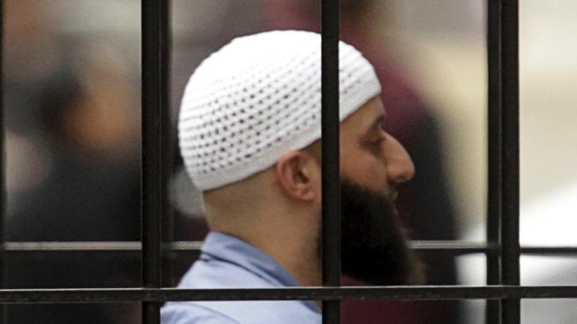 Adnan Syed behind bars.