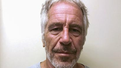 Jeffrey Epstein in a photograph taken for the New York State Division of Criminal Justice Services' sex offender registry.