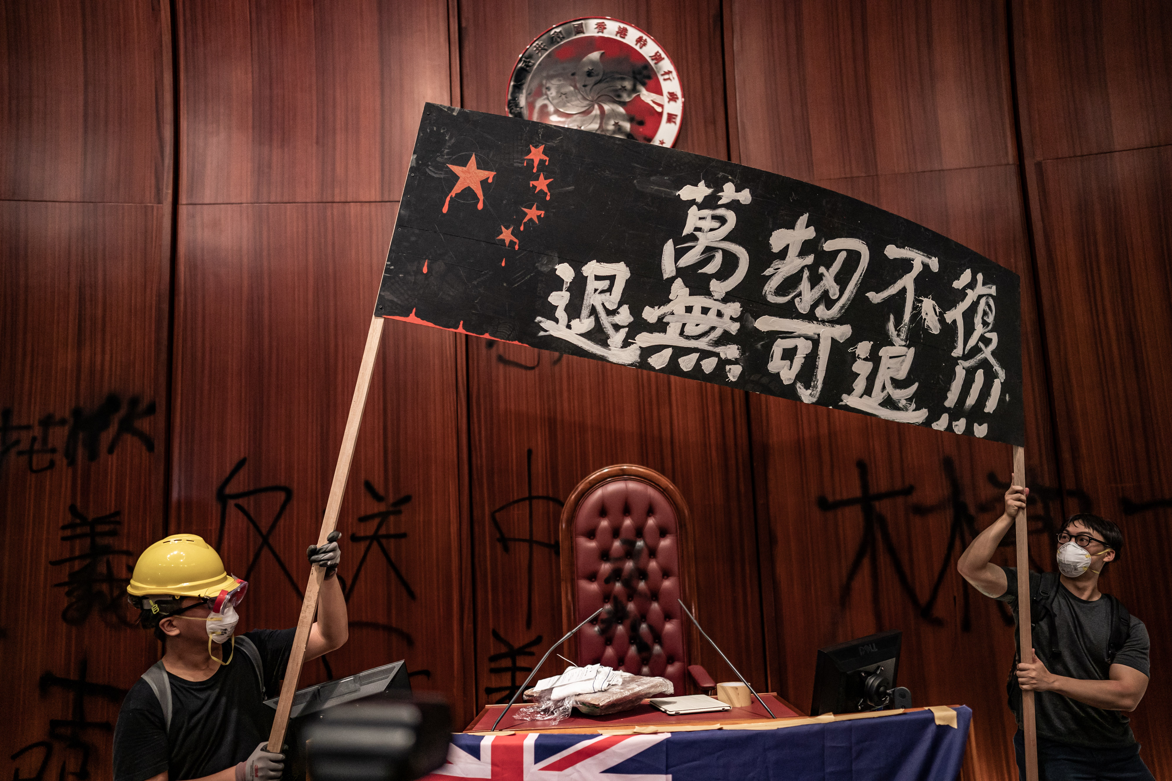 Hong Kong protests: 12 weeks in pictures — Quartz