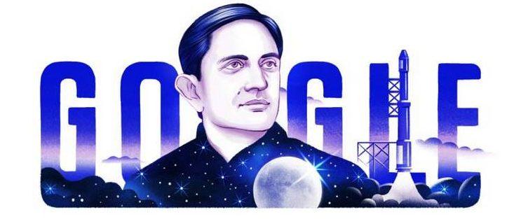 Google doodle celebrates ISRO founder Vikram Sarabhai's birthday